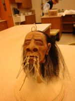 shrunken head by GorillaEye