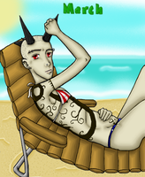 Swimsuit Calender Project: Mar by Spinkels