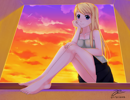 Winry by HandsofMidaz