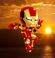 chibi Iron man.2.5 by Ironmatt1995