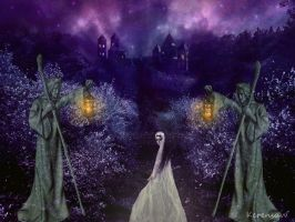 GHOSTLY PATH by KerensaW