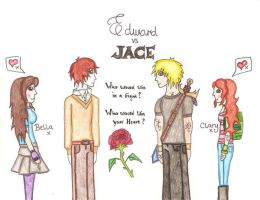 Edward vs Jace by Naii09