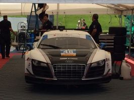 Audi R8 front view by IndyHorizon