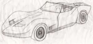 corvette shark sketch by tequilla56