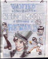 Wanted: Keith Moon by TomoeCosmo