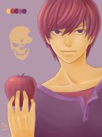 Light Yagami ~ Pallete #61 by ChibiStarChan