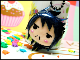 Sasuke Pouty Necklace by GrandmaThunderpants