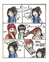 Sasuke is ... annoying ? by Mysticalhope