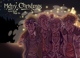 Merry Christmas by Mimi-Evelyn
