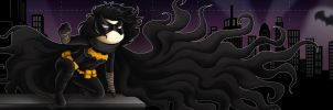 Scribblenauts Black Bat by msciuto