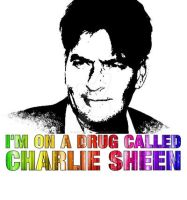 A Drug Called Charlie Sheen by firebirdy89