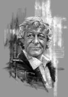 3rd Doctor by ermitanyongpalits
