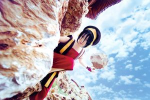 Avatar The Last Airbender toph by michivvya