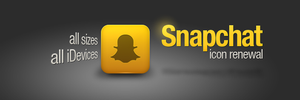 Snapchat Icon redesign by Sidhenidon