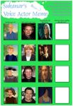 Voice Actor Meme #6 (The Wild Swans) (2004) by Hillygon