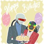 Happy 16 years My robots by yennMisakato