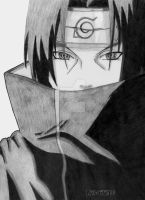 Itachi lineart by airforlife2011