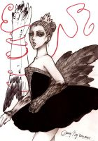 Black Swan Fanart by Dar-chan