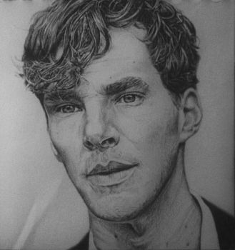 Benedict Cumberbatch by ElisabethLangton