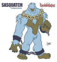 Darkstalkers EXTREME:Sasquatch by chinaguy16