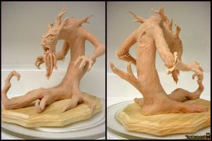 'Rotwood' Maquette by NikkiWardArt