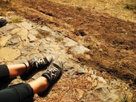 feet and dirt by Poet-Gambit