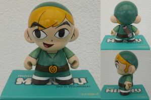 Toon Link Munny by GrahamCracker1990