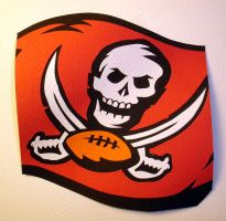 Tampa Bay Buccaneers by paperfetish