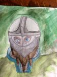 Viking watercolor by chemio