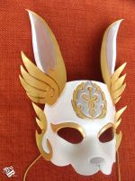Hermes Rabbit Mask by b3designsllc