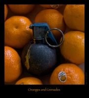 Oranges and Grenades by Photo-Rhino