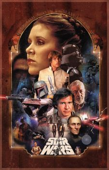 Star Wars - A long time ago Poster by jdesigns79