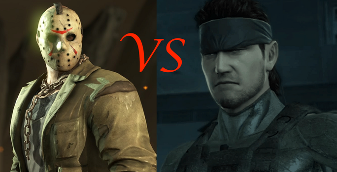 Jason Voorhees vs. Solid Snake by TheDeadlyRosered