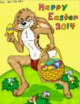 Happy Easter 2014 by MugenPlanetX