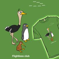 Flightless club by temperolife