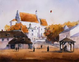 An autumn in Kazimierz by sanderus