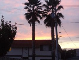 orange sky by milozilla