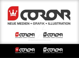 Coronr redesign - logo by BeJay
