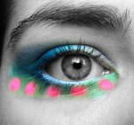 NEON Make-Up Close-up by Elyriah