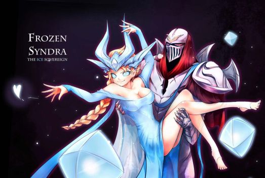 [LOL] Frozen Syndra~(Finish) by beanbeancurd