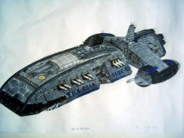 Battle Carrier 'Orca' by Notherguy
