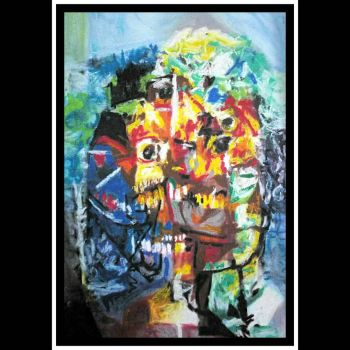 After George Condo  3 (variations on cubist faces  by cvisuali