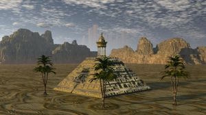 Great Pyramid Of Appolonia by Sazzart1