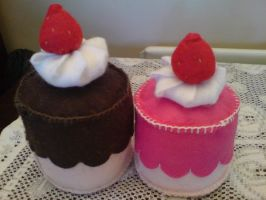 Felt: Cute Cakes by jeni-c