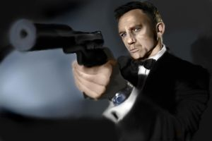 Daniel Craig as James Bond by Arsenalfan747