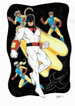 Space Ghost by Budprince