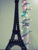 Bokeh Eiffel Tower by cheekz-jess