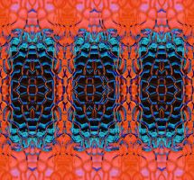 Ripple Glass Stereotriptych by aegiandyad