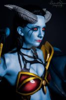 Queen Of Pain, Dota 2 cosplay by OpheliacAutumn