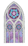 Gothic Arch Window by Flurryfox